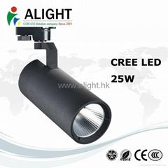 Manufacture Price High Lumen 25W TRIAC DALI Dimmable COB LED Track Light