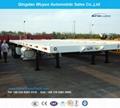 2 Axles 40FT Flat Bed Semi Trailer
