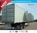 12.5 Meter 3 Axle Box Semitrailer or Van Truck Semi Trailer 1