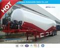 3 Axle 55cbm Dry Bulk Cement Semitrailer