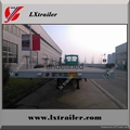 Flated container transport semi-trailer with Factory price