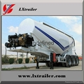 China Hot Selling Utility Bulk Cement Semi-Trailer