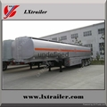 Liangxiang oil tanker trailer air suspension 42000liter fuel tank trailer