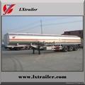 Liangxiang oil tanker trailer air suspension 42000liter fuel tank trailer