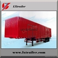 Shandong liangshan 40ton 3 Axles box