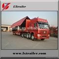 China Cheap wing opening box semi trailer 2