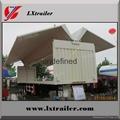 China Cheap wing opening box semi trailer 5