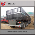 china Liangshan fence semi-trailer 40 ton lowbed semi trailer 1