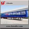 china Liangshan fence semi-trailer 40 ton lowbed semi trailer 5