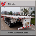 High quality 3 axle tractor truck use