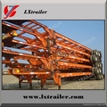 40ft, 2,3 axles container skeleton semi trailer