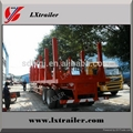 Factory hot sale low price wood timber transport semi trailer truck