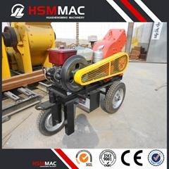 HSM Diesel Engine Power Hammer Mill Crusher Machine