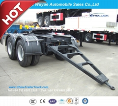 Tandem Axle Semi Trailer Dolly for Over