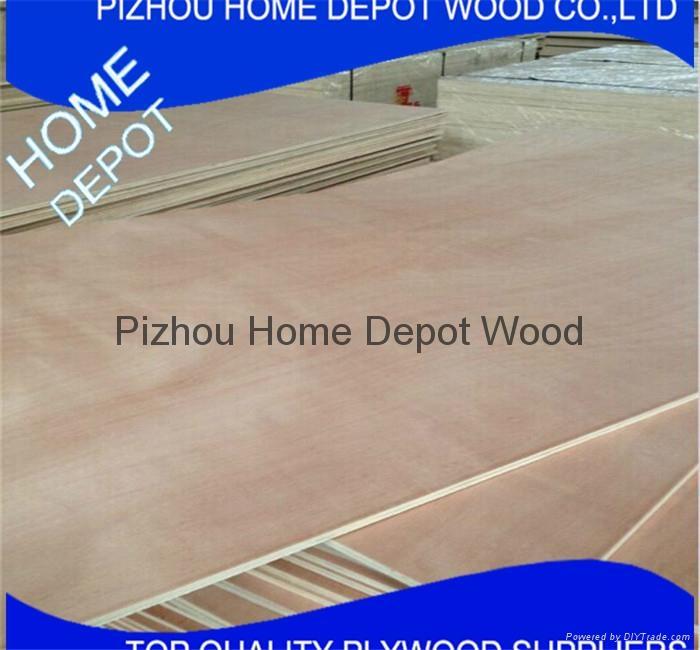 Natural Veneer Blockboard MDF Plywood 1220*2440*18mm 1