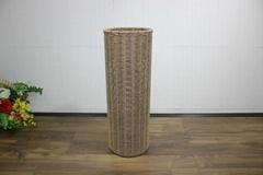 Round poly rattan umbrella holder CH2820A/1BR