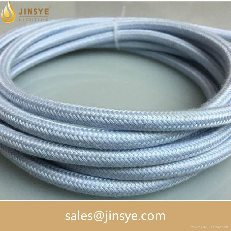 Cable Companies In My Area >> Electric lighting cable three cotton core fabric round braided electrical wire - 15 - Jinsye ...
