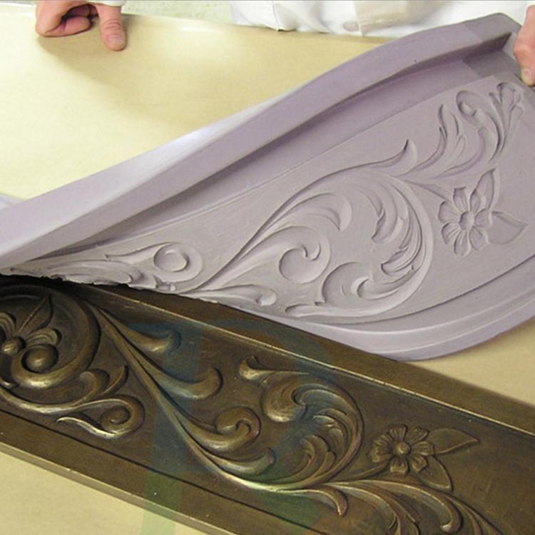 高強度房屋裝修材料石膏線模具硅膠 5