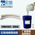 供应抗撕抗拉石膏工艺品用的模具硅胶