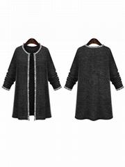 Fashion Women Long Outerwear Coat