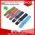 Quality garanteed soft 22mm sport silicon bracelet watch strap for smart watch 1