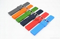 Fashionable clasp silicone double
