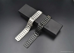 18mm stainless steel watch band replacement smart watch bracelet for huawei