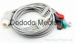 Mindry ECG trunk  Cable with 5 lead wire