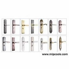 Home door lock handle room door handle