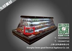 宣城超市岛柜冷藏柜蔬果饮料保鲜柜