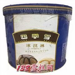 东莞惠州四季雪大桶装冰淇淋批发4kg