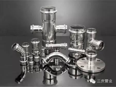 滄州管業生產不鏽鋼卡壓管件 1