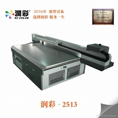 High speed Digital uv printer 2513 inkjet printer metal acrylic printing machine