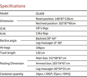 Dotast Massage Chair A09 Black 5
