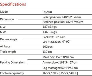 Dotast Massage Chair A08 Black 5