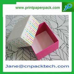 Custom Lid & Base Two Pieces Box Rigid Cardboard Set-up Box Gift Paper Box