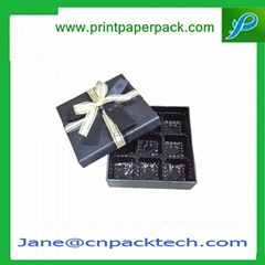 Custom Rigid Cardboard Set-Up Boxes Chocolate Box Paper Gift Box