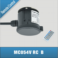无线遥控独立安装微波感应器控制调光功能雷达感应MC054 RC B
