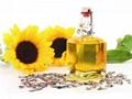 100% pure crude sunflower oil