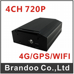 HD Mobile Car Taxi Truck Train DVR Support GPS WiFi