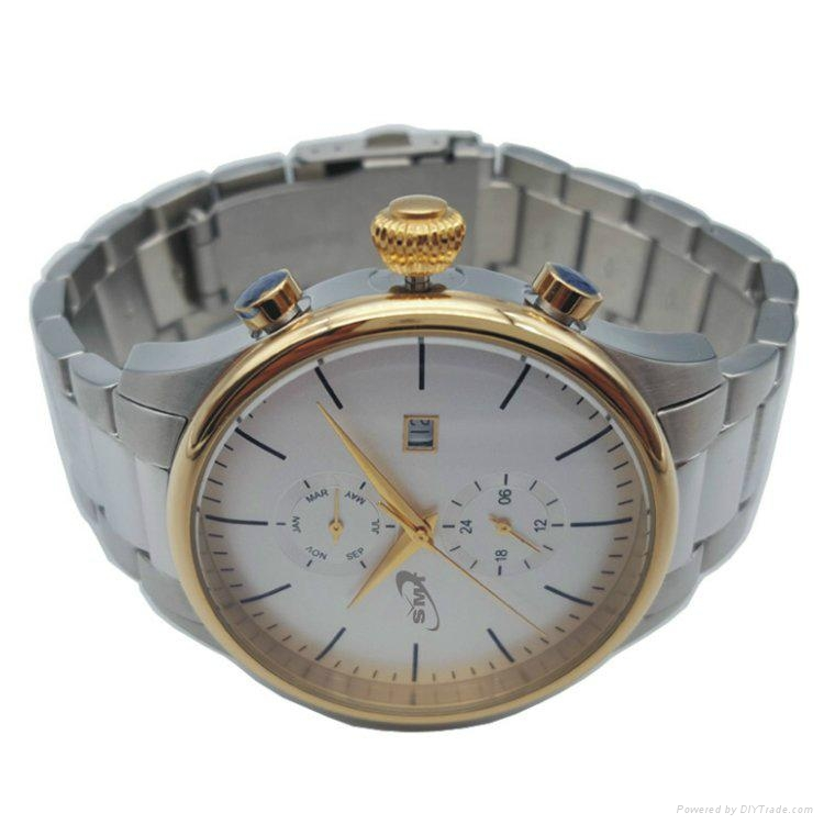 Stainless Steel Chronograph Watch SMT-1002 4