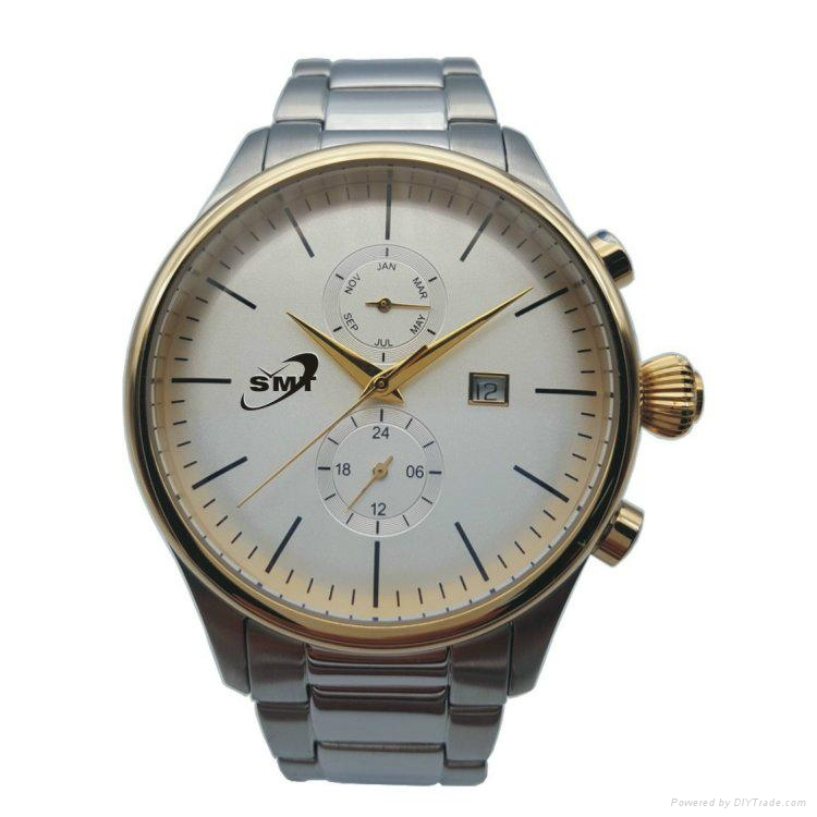 Stainless Steel Chronograph Watch SMT-1002