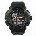 Multi Function Waterproof Digital LCD Alarm Sport Watch  SMT-2000 2