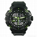 Multi Function Waterproof Digital LCD Alarm Sport Watch  SMT-2000