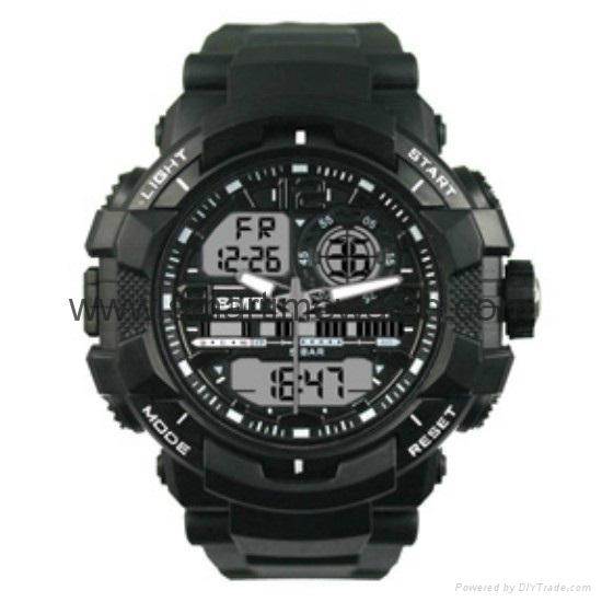Multi Function Waterproof Digital LCD Alarm Sport Watch  SMT-2000 3