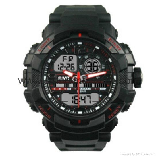 Multi Function Waterproof Digital LCD Alarm Sport Watch  SMT-2000 5