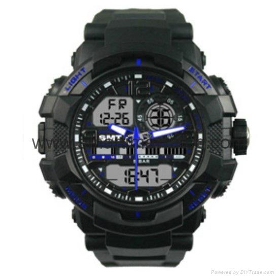 石英數字多功能手錶 SMT-2000 4
