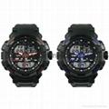 Multi Function Waterproof Digital LCD Alarm Sport Watch  SMT-2000 6