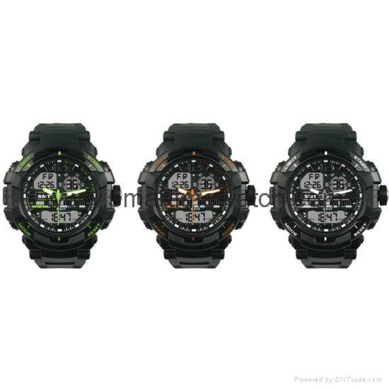 石英數字多功能手錶 SMT-2000 7