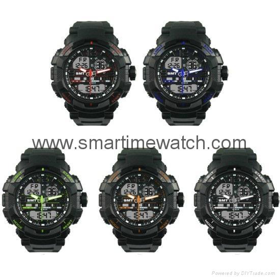 石英數字多功能手錶 SMT-2000 8
